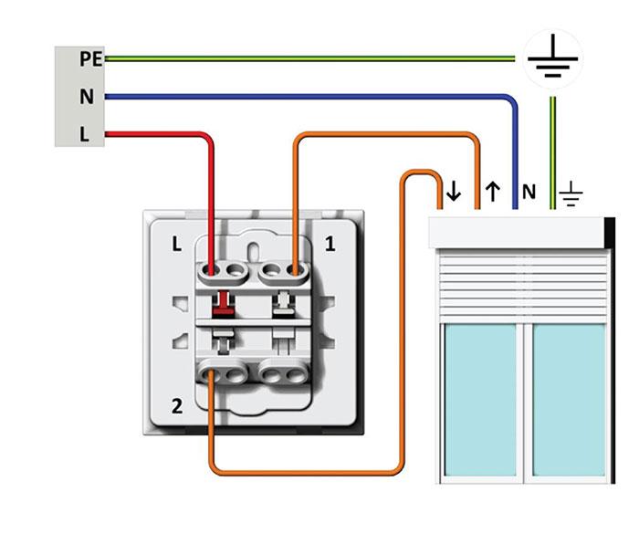 comment brancher un volet roulant electrique