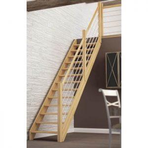 comment monter un escalier droit