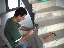 comment faire un escalier en béton ciré