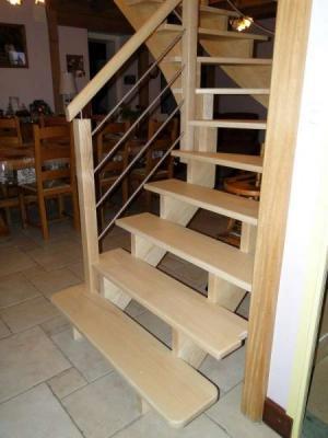 comment mesurer un escalier 1/4 tournant