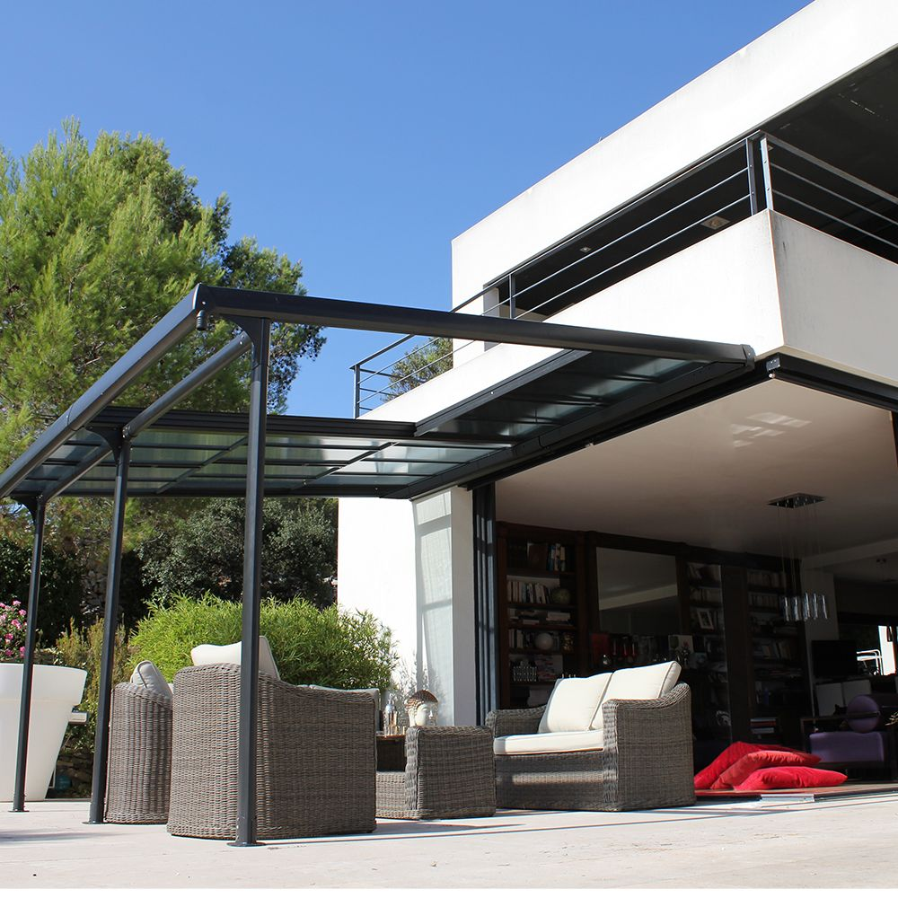 pergola toit coulissant mon b ti en alu. Black Bedroom Furniture Sets. Home Design Ideas